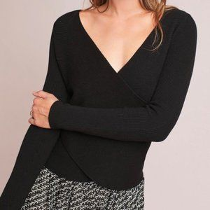 Anthropologie Criss Cross Sweater - new with tags